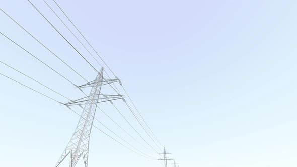 Thumbnail for High Power Lines Architectural Sketch