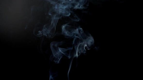 Cover Image for Smoke on a Black Background