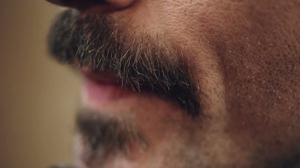 Thumbnail for Handsome Male Carefully Shaving Face with Electric Shaver, Making Stylish Beard