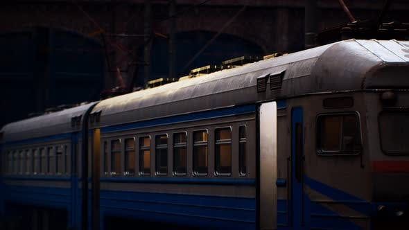 Old Soviet Electrical Train Staition