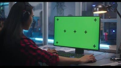 Video Game Developer at Work