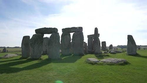 Rocks and stones of Stonehenge