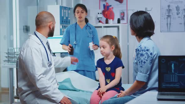 Thumbnail for Mother Listening Doctor for New Treatment