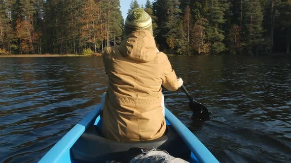 Thumbnail for Canoeing on Lake