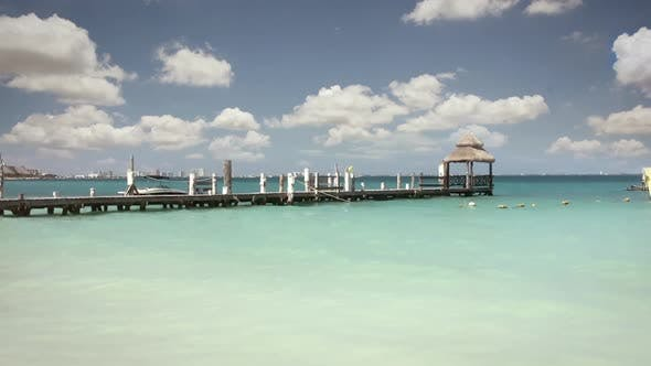 Thumbnail for Wooden Pier at Tropical Beach.