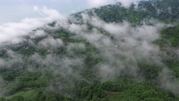 Thumbnail for Spectacular Black Sea Geography Intertwined With The Fog And Forest, Artvin Rize Trabzon in Turkey