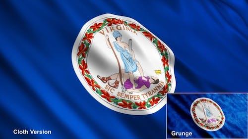 Drapeaux de l'État de Virginie