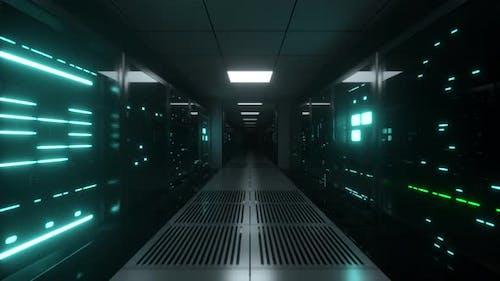 Endless Flight Along Server Blocks