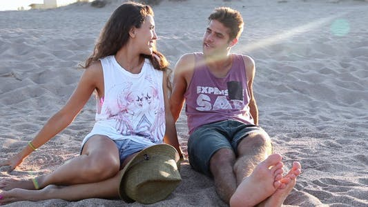 Thumbnail for Loving Couple At The Beach