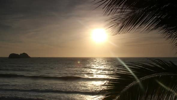 Thumbnail for sunset mexican coast