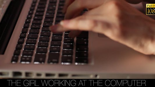 Thumbnail for The Girl Working At The Computer 2