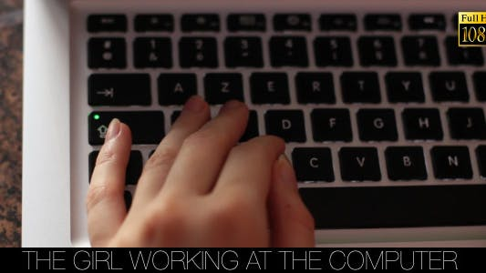 Thumbnail for The Girl Working At The Computer 3