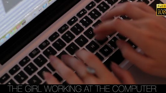 Cover Image for The Girl Working At The Computer 6