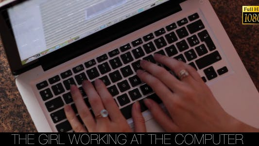 Cover Image for The Girl Working At The Computer 7