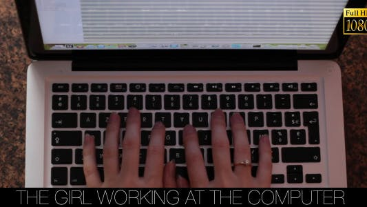 Cover Image for The Girl Working At The Computer 8