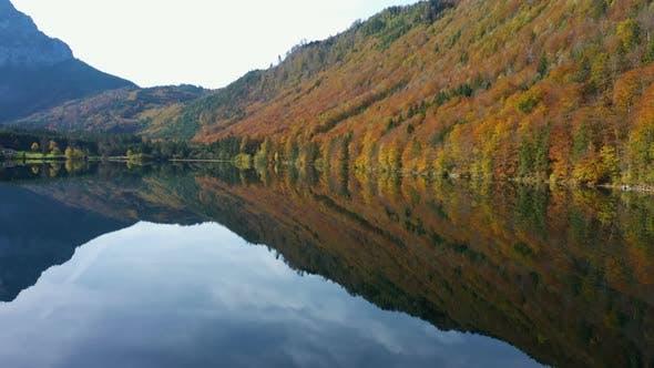 Thumbnail for Beautiful Austrian Autumn Lake 8