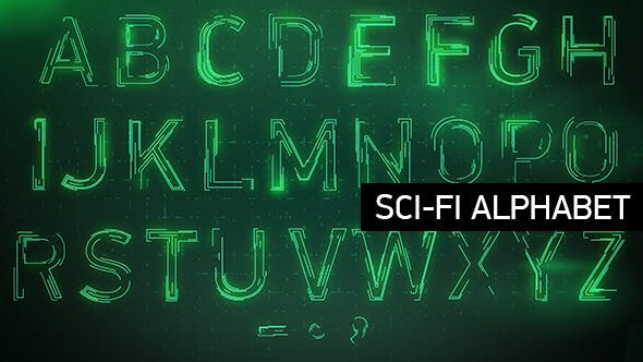 Thumbnail for Animated Sci-fi Alphabet