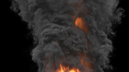 Heavy Smoke Rising - Long Shot