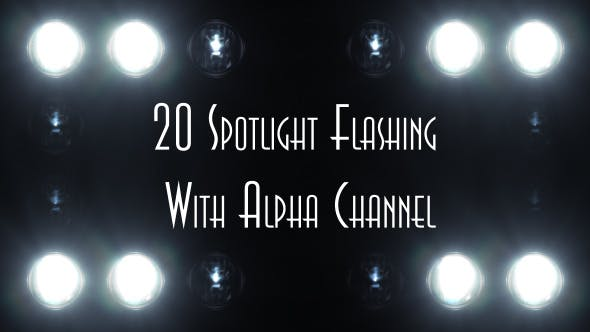 Thumbnail for Spotlight Flashing (20-Pack)