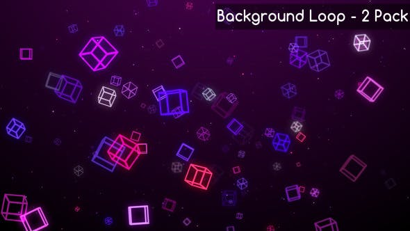 Thumbnail for Cube And Square Moving Backgrounds