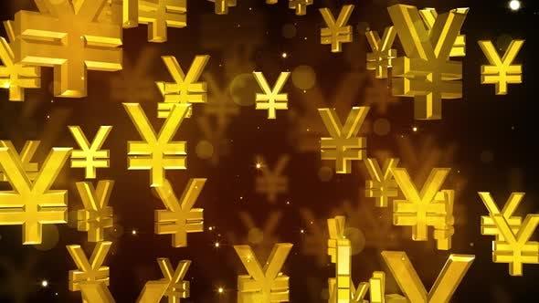Falling Yen Symbols