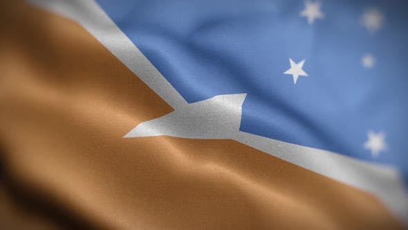 Tierra Del Fuego Province Argentina Flag Textured Waving Front Background HD