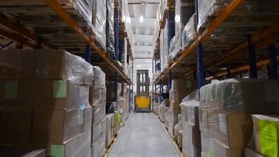 Large Warehouse of a Manufacturing Enterprise