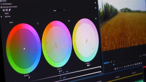 Video Color Correction Ring