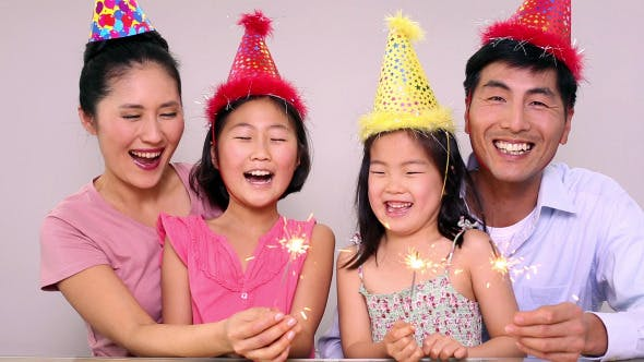Thumbnail for Happy Family Celebrating A Birthday 2