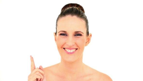 Thumbnail for Pretty Woman Applying Face Cream