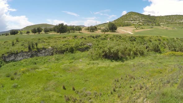 Thumbnail for Fascinating View on Untouched Conservancy Area From Above, Nature of Cyprus