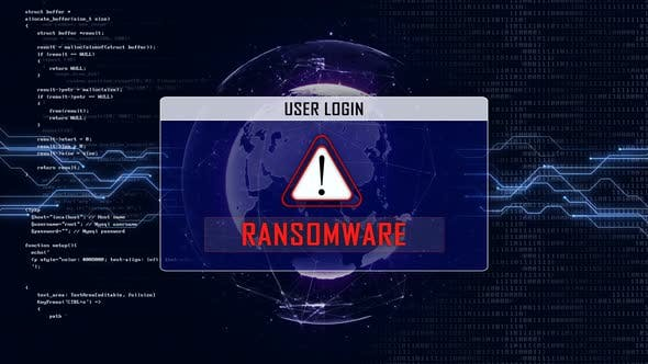 RANSOMWARE and User Login Interface
