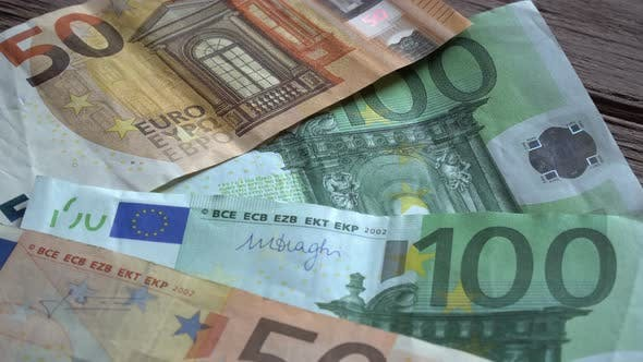 Thumbnail for Euro Banknotes Background 2