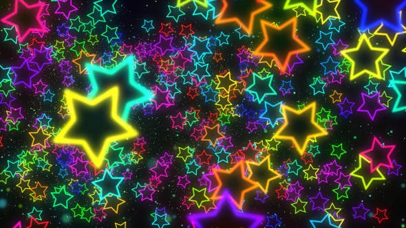 Thumbnail for Stars Colorful Backgrounds