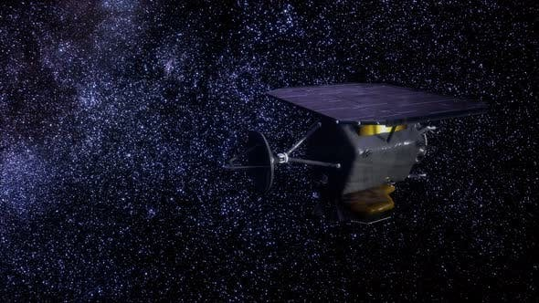 Cover Image for the Space Probe Deep Impact Mission