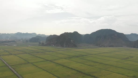 Thumbnail for Aerial view of Ninh Binh region, Trang An Tam Coc - Vietnam