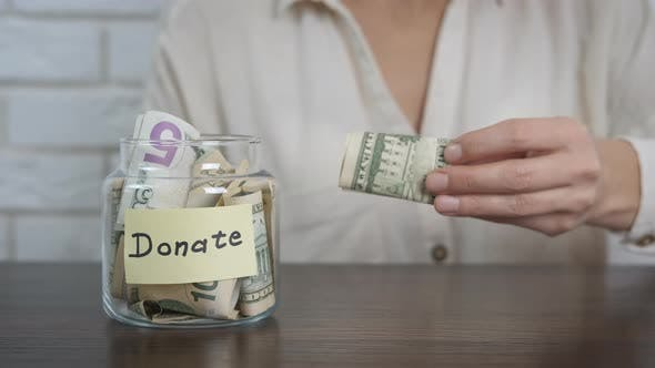 Cash for Donations