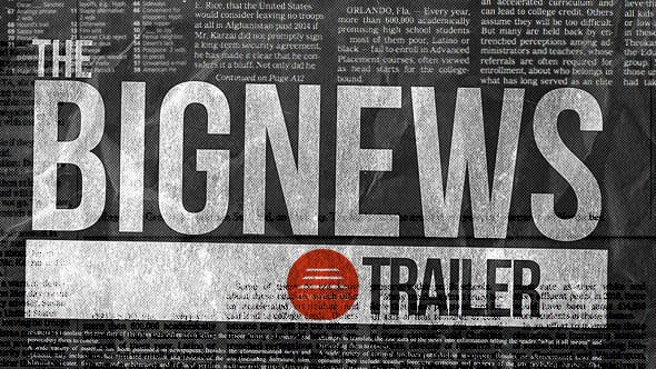 Thumbnail for The Big News Trailer