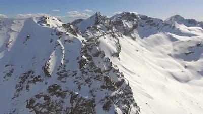 Aerial Himalayas Mountain Peaks
