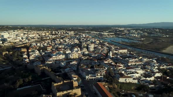 Thumbnail for Lagos City In Portugal Morning Aerial View
