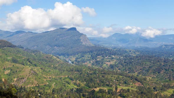 Thumbnail for Natural Landscape in the Mountains Sri Lanka