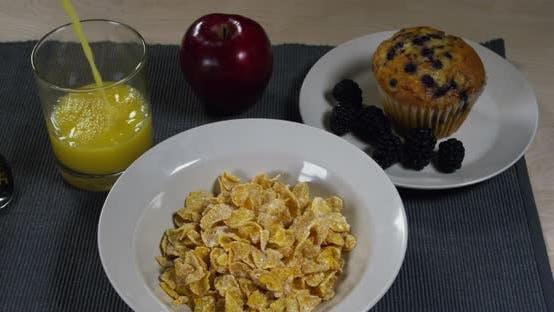 Thumbnail for Breakfast Orange Juice Cereal Blackberry 20B