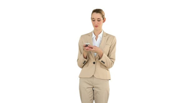 Thumbnail for Businesswoman Texting On The Phone 5