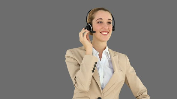 Thumbnail for Call Centre Agent Talking On The Headset 2