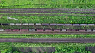 Railroads and Shipping Container Trains