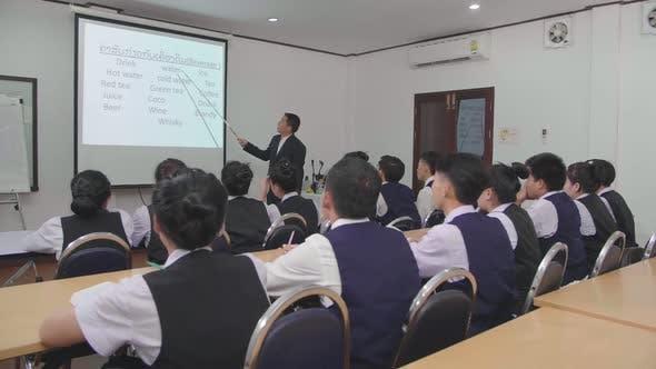 Asian Class Room
