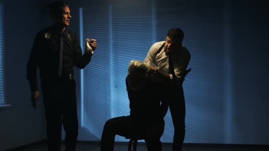 Thumbnail for Policemen Using Excessive Force During Interrogation