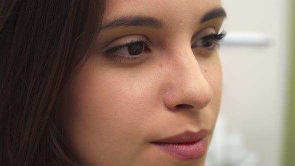 Thumbnail for Girl Turns Her Face