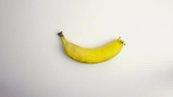 Thumbnail for Banana on White Table