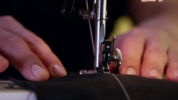 Thumbnail for Tailor Sewing Clothes With Sewing Machine 27
